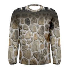 Roof Tile Damme Wall Stone Men s Long Sleeve Tee