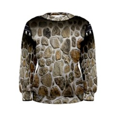 Roof Tile Damme Wall Stone Women s Sweatshirt