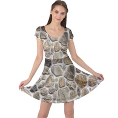 Roof Tile Damme Wall Stone Cap Sleeve Dresses