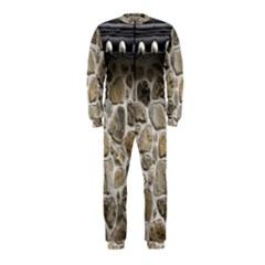 Roof Tile Damme Wall Stone OnePiece Jumpsuit (Kids)