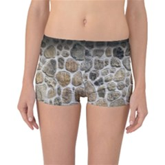 Roof Tile Damme Wall Stone Reversible Bikini Bottoms