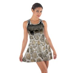 Roof Tile Damme Wall Stone Cotton Racerback Dress