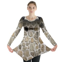 Roof Tile Damme Wall Stone Long Sleeve Tunic