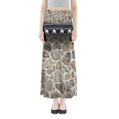 Roof Tile Damme Wall Stone Maxi Skirts