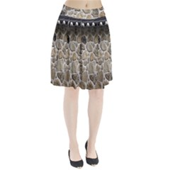 Roof Tile Damme Wall Stone Pleated Skirt