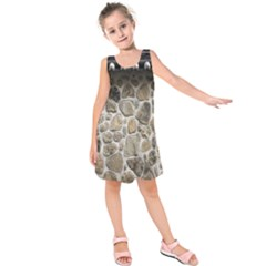 Roof Tile Damme Wall Stone Kids  Sleeveless Dress