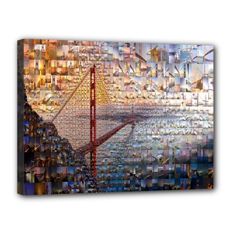 San Francisco Canvas 16  x 12