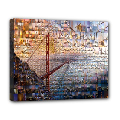 San Francisco Deluxe Canvas 20  x 16