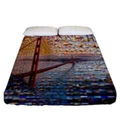 San Francisco Fitted Sheet (king Size)