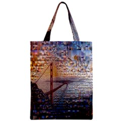 San Francisco Zipper Classic Tote Bag