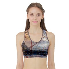 San Francisco Sports Bra With Border