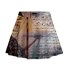 San Francisco Mini Flare Skirt