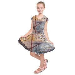 San Francisco Kids  Short Sleeve Dress