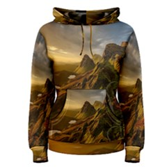 Scotland Landscape Scenic Mountains Women s Pullover Hoodie