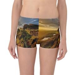 Scotland Landscape Scenic Mountains Boyleg Bikini Bottoms
