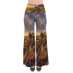 Scotland Landscape Scenic Mountains Pants
