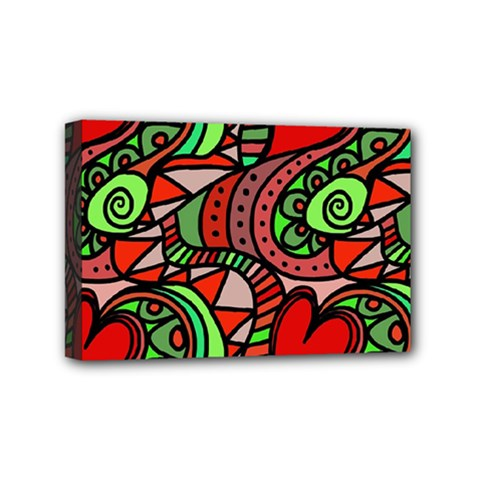 Seamless Tile Background Abstract Mini Canvas 6  x 4