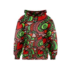 Seamless Tile Background Abstract Kids  Pullover Hoodie