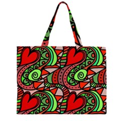 Seamless Tile Background Abstract Large Tote Bag