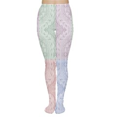 Seamless Kaleidoscope Patterns In Different Colors Based On Real Knitting Pattern Women s Tights