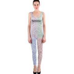 Seamless Kaleidoscope Patterns In Different Colors Based On Real Knitting Pattern Onepiece Catsuit