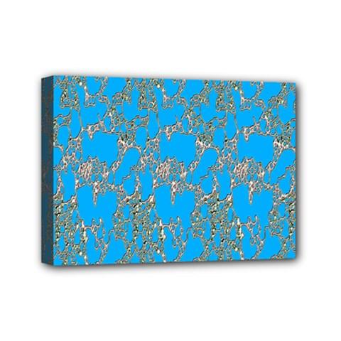 Seamless Pattern Background Seamless Mini Canvas 7  x 5