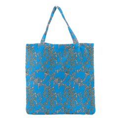 Seamless Pattern Background Seamless Grocery Tote Bag