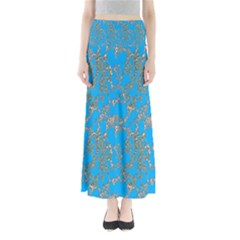 Seamless Pattern Background Seamless Maxi Skirts