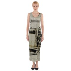 Sewing  Fitted Maxi Dress