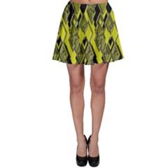 Seamless Pattern Background Seamless Skater Skirt