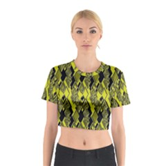 Seamless Pattern Background Seamless Cotton Crop Top