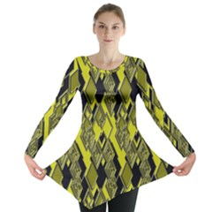 Seamless Pattern Background Seamless Long Sleeve Tunic