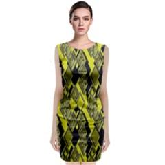 Seamless Pattern Background Seamless Classic Sleeveless Midi Dress