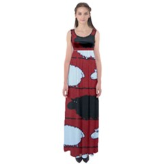 Sheep Empire Waist Maxi Dress