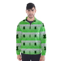 Shamrock Pattern Wind Breaker (Men)