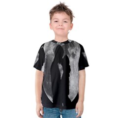 Silhouette Of Lovers Kids  Cotton Tee