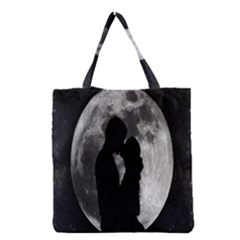 Silhouette Of Lovers Grocery Tote Bag