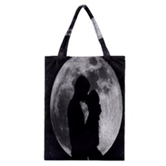 Silhouette Of Lovers Classic Tote Bag