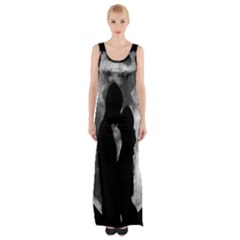Silhouette Of Lovers Maxi Thigh Split Dress