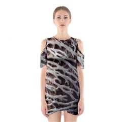 Seed Worn Lines Close Macro Shoulder Cutout One Piece