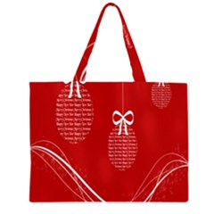 Simple Merry Christmas Large Tote Bag
