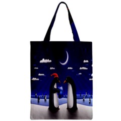 Small Gift For Xmas Christmas Zipper Classic Tote Bag