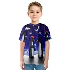 Small Gift For Xmas Christmas Kids  Sport Mesh Tee