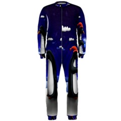 Small Gift For Xmas Christmas OnePiece Jumpsuit (Men)