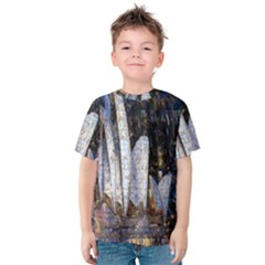 Sidney Travel Wallpaper Kids  Cotton Tee