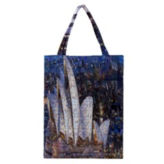 Sidney Travel Wallpaper Classic Tote Bag