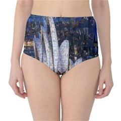 Sidney Travel Wallpaper High Waist Bikini Bottoms