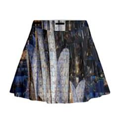 Sidney Travel Wallpaper Mini Flare Skirt