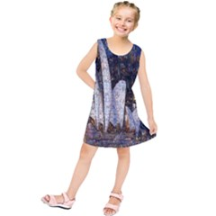 Sidney Travel Wallpaper Kids  Tunic Dress