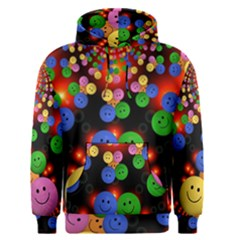 Smiley Laugh Funny Cheerful Men s Pullover Hoodie
